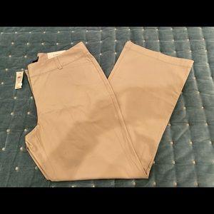 Ann Taylor size 14 nwts curvy bootcut pants Ret$59
